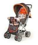 Luvlap Sunshine Baby Stroller, Orange