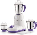 Kelvinator KMG 5535 550 Watt 3 Stainless Steel Jars 550 Juicer Mixer Grinder (White, Purple, 3 Jars)