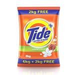 Tide Plus Extra Power Detergent Washing Powder - 6 kg (Jasmine and Rose) with Free Detergent Powder - 2 kg