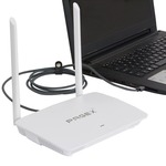 PAGEX 300 MBPS Wireless Router(Power Backup Option With Any Power Bank/Any Power Source)