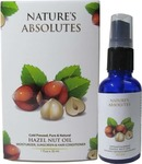 Nature's Absolutes Hazelnut Carrier Oil - 30 ml For - Hair Skin Hydrating Moisturizing Anti-Aging Split Ends  (30 ml)