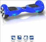 Kiiwi Electric Hands Free 2 Wheels Self Balancing Scooter Blue Quad Roller Skates - Size 6 -12 UK @14,819/-