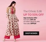Valid today only - Extra 25% off on 2499 Purchase + 5% Cashback onStanC and HDFC Cards + Running discounts upto 50%