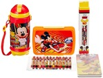 Disney Mickey Mouse back to School stationery combo set, 999, Multicolor
