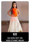 Tatacliq : 50% - 60% off on kids ethnic wear.