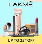 Upcoming||Get 10% cashback, upto Rs 300 on Purchase make-up worth Rs 750 or more, using Amazon Pay balance