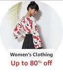 women's clothing upto 80% off