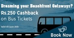 Get Rs.250 cashback on bus tickets
