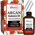 StBotanica Argan Radiance Face Oil - 20ml - Skin Brightening, Anti Aging & Anti Wrinkle Serum