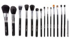 Puna Store Premium Quality Makeup Brush Set, 15 Pieces Set with Black Leather Case