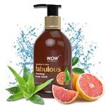 WOW Fabulous Foaming Body Wash, Grapefruit and Aloe Shower Gel, 300 ml