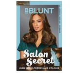 Amazon : BBLUNT Salon Secret High Shine Creme Hair Colour - Light Golden Brown 5.32, 100g (Free Shine Tonic, 8ml)