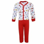Night Wear for Kids / Toddlers - Night suit - Pyjama Shirt Combo Set  - Sinker Soft Material  - Full Sleeves -