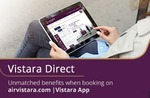 Air Vistara - Upto 15% discount on Economy & Business Class Flights with Axis Cards