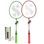 Silver's KIDS SIL-JB190 COMBO-5 Aluminum Badminton Set at Rs.279