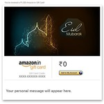 Amazon 5% upto 150 on email gift cards