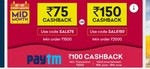 Grofers mid month sale and paytm cashback for all users (15th - 18th June)
