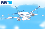 Paytm Rs.1000 Cashback On Min Rs.3000 Flight Ticket For New Users
