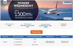 Get upto Rs 1500 off on domestic flight booking of min Rs 6000 every Wednesday for HDFC card holders on Goibibo app or mobile site (between 3pm and 10 pm)