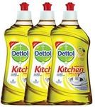 Save Rs.118  Dettol Kitchen Gel - 400 ml (Lemon, Pack of 3)
