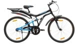 HERCULES Frozo ZX 26 T Single Speed Mountain Cycle  (Black, Blue)