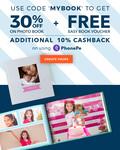 Flat 30% OFF +10%(Via PhonePe) on Photo Books + FREEBIE on every order @Zoomin