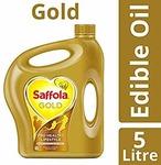 Amazon - Saffola Gold 5L for 643/-