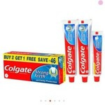 Colgate Toothpaste - Strong Teeth - 2 packs 1kg, free shipping (ONCEAMONTH)