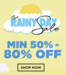 Jabong Rainy Day Sale - 50% off to 80% off