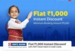 Flipkart Travel :- Flat 1000₹ instant discount on Min Domestic Flight booking of 5000 ₹ using hdfc cards