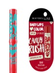 Maybelline Baby Lips Vivid Peach Lip Balm with Candy Crush Lip Balm Free