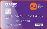 AU ABHI Bank Zero Saving instant account opening, 5% interest, Virtual RuPay card, Free IMPS, NEFT and RTGS, Monthly interest payout.