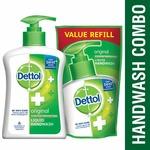 Dettol Original Liquid Handwash - 200 ml with Free Liquid Handwash - 175 ml (Any Variant)