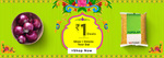 Bigbasket Rs 1 Deals-Ghee,onions,toor dal And More