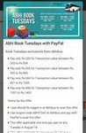 Abhi bus Tuesday Offer paypal