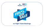 upcoming: Final Call Flight Sale. Flat 1000 cashback on flight. register your number