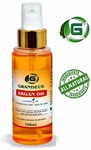Grandeur Moroccan Argan Hair Oil 100ml (With Argan Oil, Jojoba Oil, Walnut Oil, Tulsi Extract oil), for Dry and Coarse Hair & Skin care 100ml
