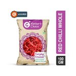 Grofers Mother's Choice Red Chilli Whole 100GM [ CHENNAI USERS ]