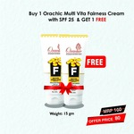 Orachic Multivita Fairness Cream pack of 2
