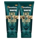 Himalaya Men Face and Beard Wash, 80ml (Pack of 2)