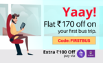 Railyatri : Get upto Rs.300 off on bus ticket booking.
