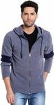 Campus Sutra Full Sleeve Solid Men's Sweatshirt