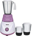 Inalsa Astra LX 600 watt Mixer Grinder  (White & Purple, 3 Jars)