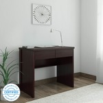 Perfect Homes by Flipkart Fermi Study Table  (Free Standing, Finish Color - Wenge