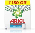 Ariel Matic Front Load Detergent Washing Powder - 3 kg (Rupees 150 Off) for  Rs. 418