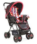 Luvlap Sunshine Baby Stroller (Red Checks)