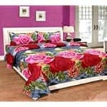 Double Bedsheets at INR 299 Flat
