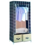 Pindia Fancy & Portable Aluminium Collapsible Wardrobe