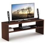 Bluewud Oliver Engineered Wood TV Entertainment Unit  (Finish Color - Wenge)