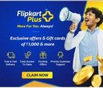 Flipkart Plus free for one year
